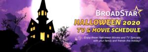 Halloween TV Schedule 2020 Banner