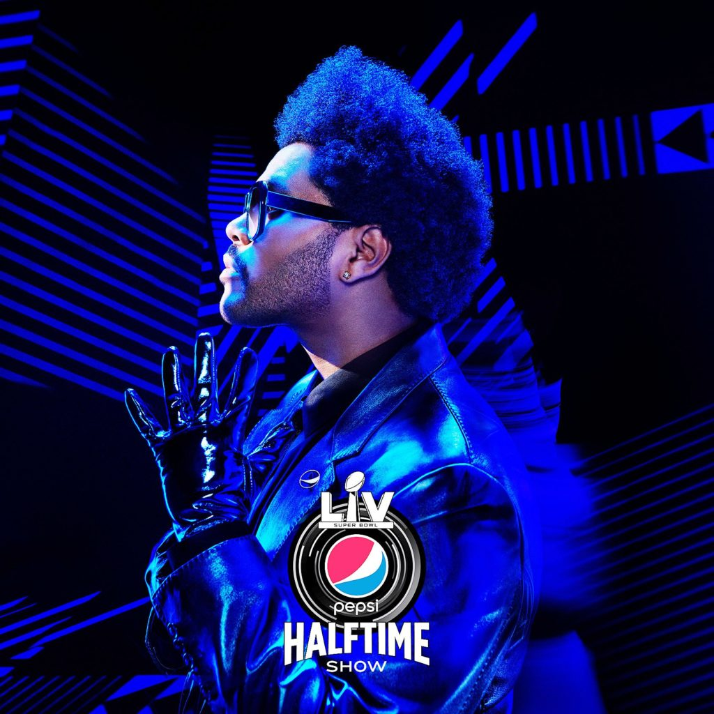 Super Bowl LV Halftime Show The Weeknd 2021