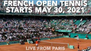French Open Tennis 2021